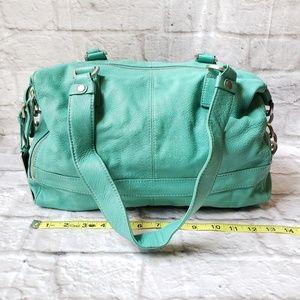 Kenneth Cole Reaction Leather Tote Handbag Purse